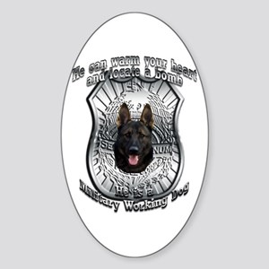 He's a MWD Oval Sticker